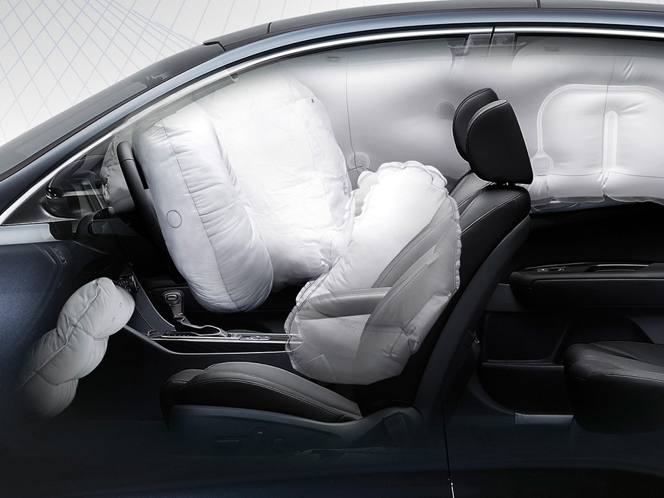 Kia Optima Sportswagon air bags